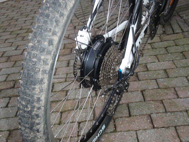 achterwiel motor