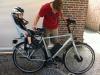 E-bike met kinderstoel