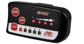 LED display elektrische fiets